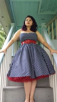 Vintage rockabilly fashion style outfits 8