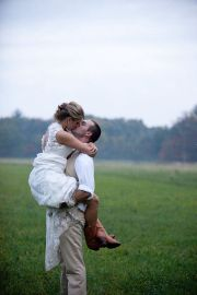 Vintage wedding outfit with country boots 53
