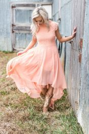 Vintage wedding outfit with country boots 63