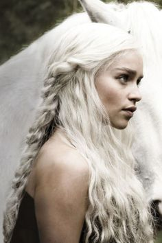 Amazing khaleesi game of thrones hairstyle ideas 15