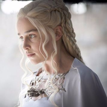 Amazing khaleesi game of thrones hairstyle ideas 29