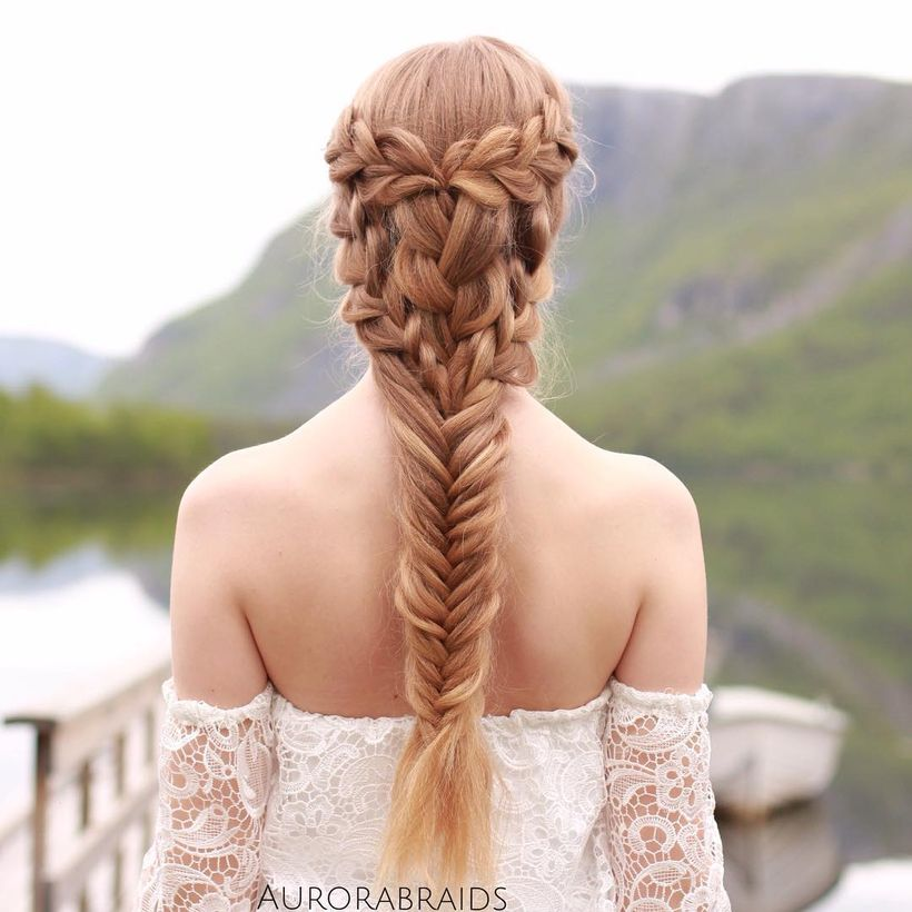 Amazing khaleesi game of thrones hairstyle ideas 31