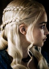 Amazing khaleesi game of thrones hairstyle ideas 42