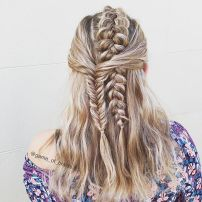 Amazing khaleesi game of thrones hairstyle ideas 48