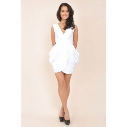 Amazing white short dresses ideas for party outfits 1