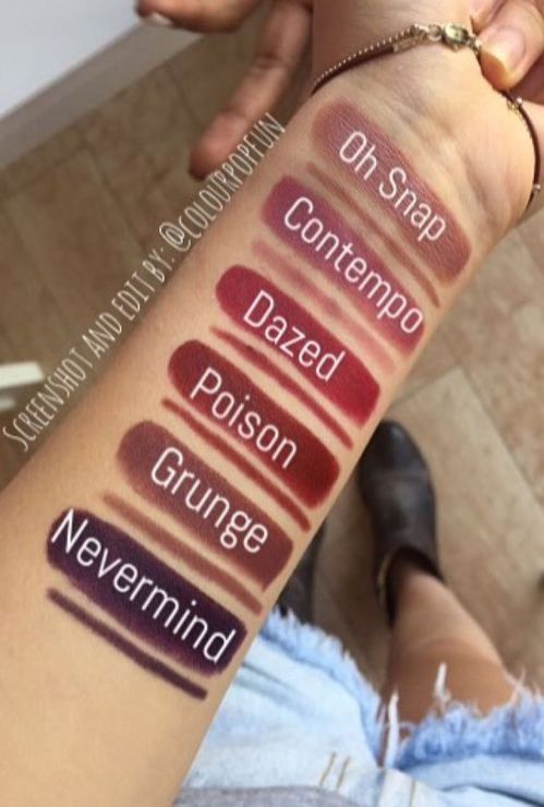 Attractive colourpop lippie stix swatches that you must see 19