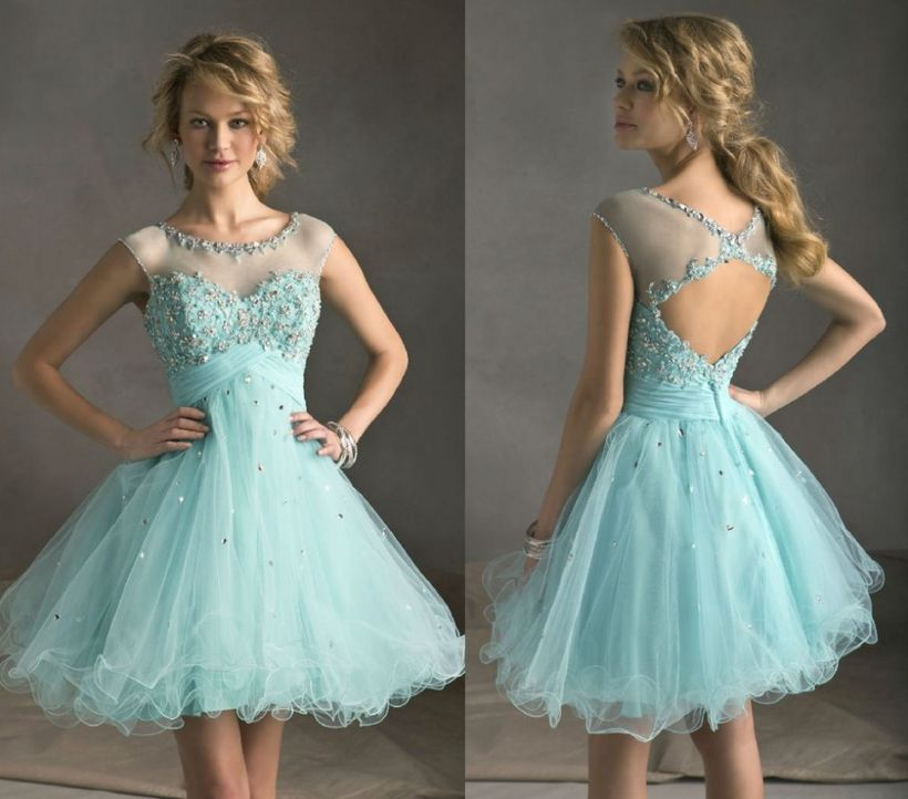 Awesome teens short dresses ideas for graduation outfits 13