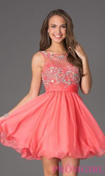 Awesome teens short dresses ideas for graduation outfits 186