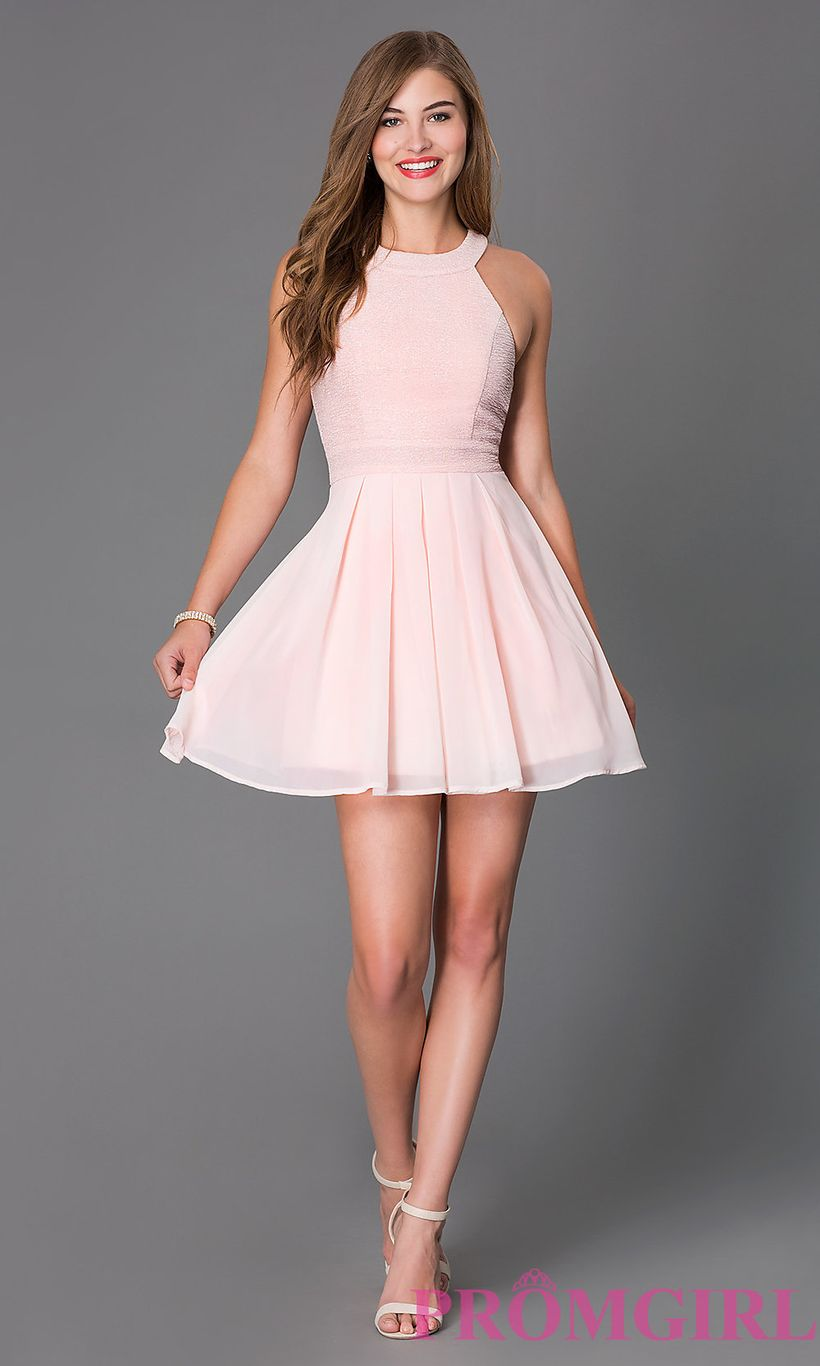 Awesome teens short dresses ideas for graduation outfits 39