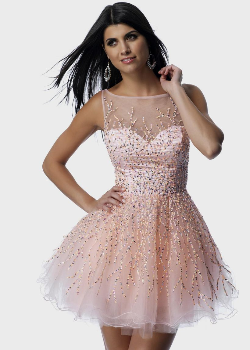 Awesome teens short dresses ideas for graduation outfits 46