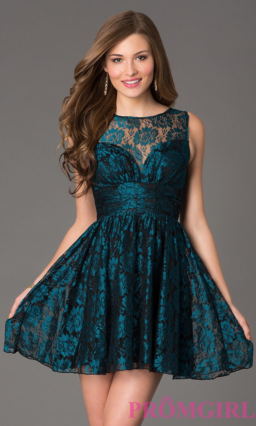 Awesome teens short dresses ideas for graduation outfits 6
