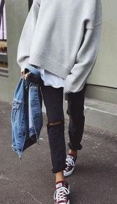 Cool casual street style outfit ideas 2017 58