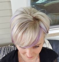 Cool short pixie blonde hairstyle ideas 131