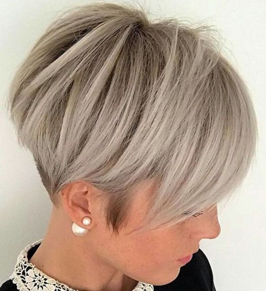 Cool short pixie blonde hairstyle ideas 139