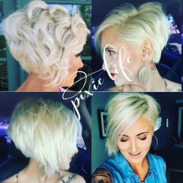 Cool short pixie blonde hairstyle ideas 66