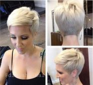 Cool short pixie blonde hairstyle ideas 72