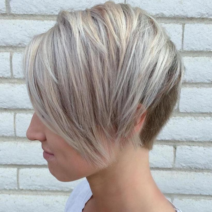 Cool short pixie blonde hairstyle ideas 85