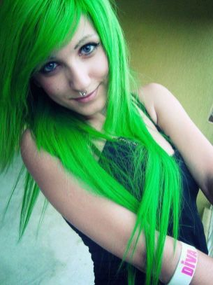 Crazy colorful hair colour ideas for long hair 104