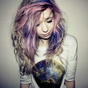 Crazy colorful hair colour ideas for long hair 118