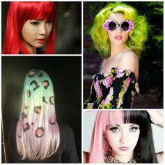 Crazy colorful hair colour ideas for long hair 121