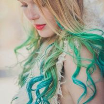 Crazy colorful hair colour ideas for long hair 152