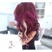 Crazy colorful hair colour ideas for long hair 156