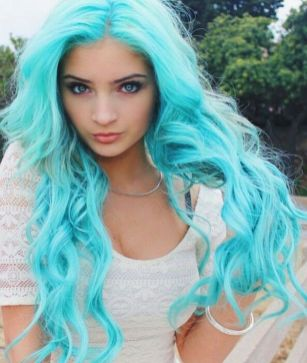 Crazy colorful hair colour ideas for long hair 18