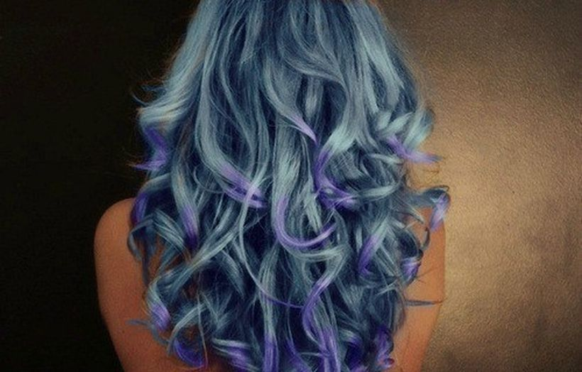 Crazy colorful hair colour ideas for long hair 19
