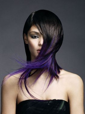 Crazy colorful hair colour ideas for long hair 193