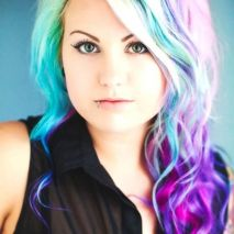 Crazy colorful hair colour ideas for long hair 195