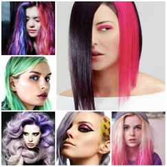Crazy colorful hair colour ideas for long hair 198