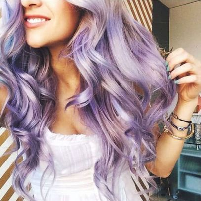 Crazy colorful hair colour ideas for long hair 214