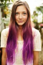 Crazy colorful hair colour ideas for long hair 220