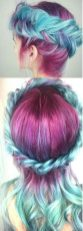Crazy colorful hair colour ideas for long hair 3