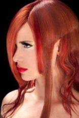 Crazy colorful hair colour ideas for long hair 43