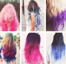 Crazy colorful hair colour ideas for long hair 49