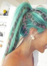 Crazy colorful hair colour ideas for long hair 51