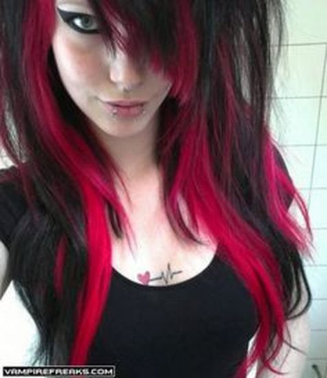 Crazy colorful hair colour ideas for long hair 75
