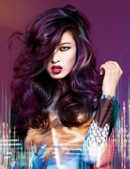 Crazy colorful hair colour ideas for long hair 99