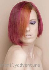 Crazy hair colour ideas for medium and short hair 15