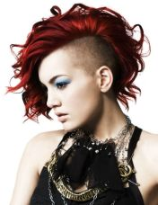 Crazy hair colour ideas for medium and short hair 22