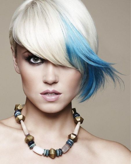 Crazy hair colour ideas for medium and short hair 34