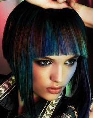 Crazy hair colour ideas for medium and short hair 70