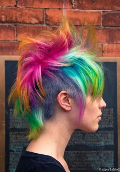 Crazy hair colour ideas for medium and short hair 89