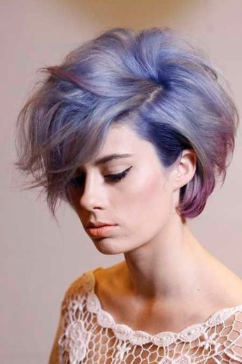 Crazy hair colour ideas for medium and short hair 92