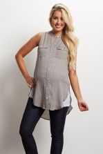 Fashionable maternity outfits ideas for summer and spring 104