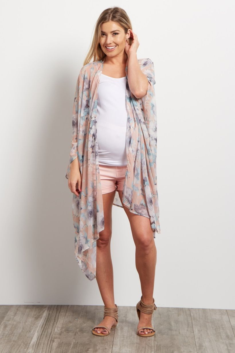 Fashionable maternity outfits ideas for summer and spring 13