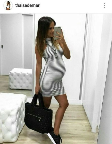 Fashionable maternity outfits ideas for summer and spring 55
