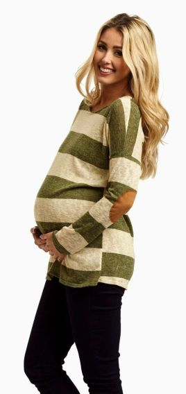 Fashionable maternity outfits ideas for summer and spring 56