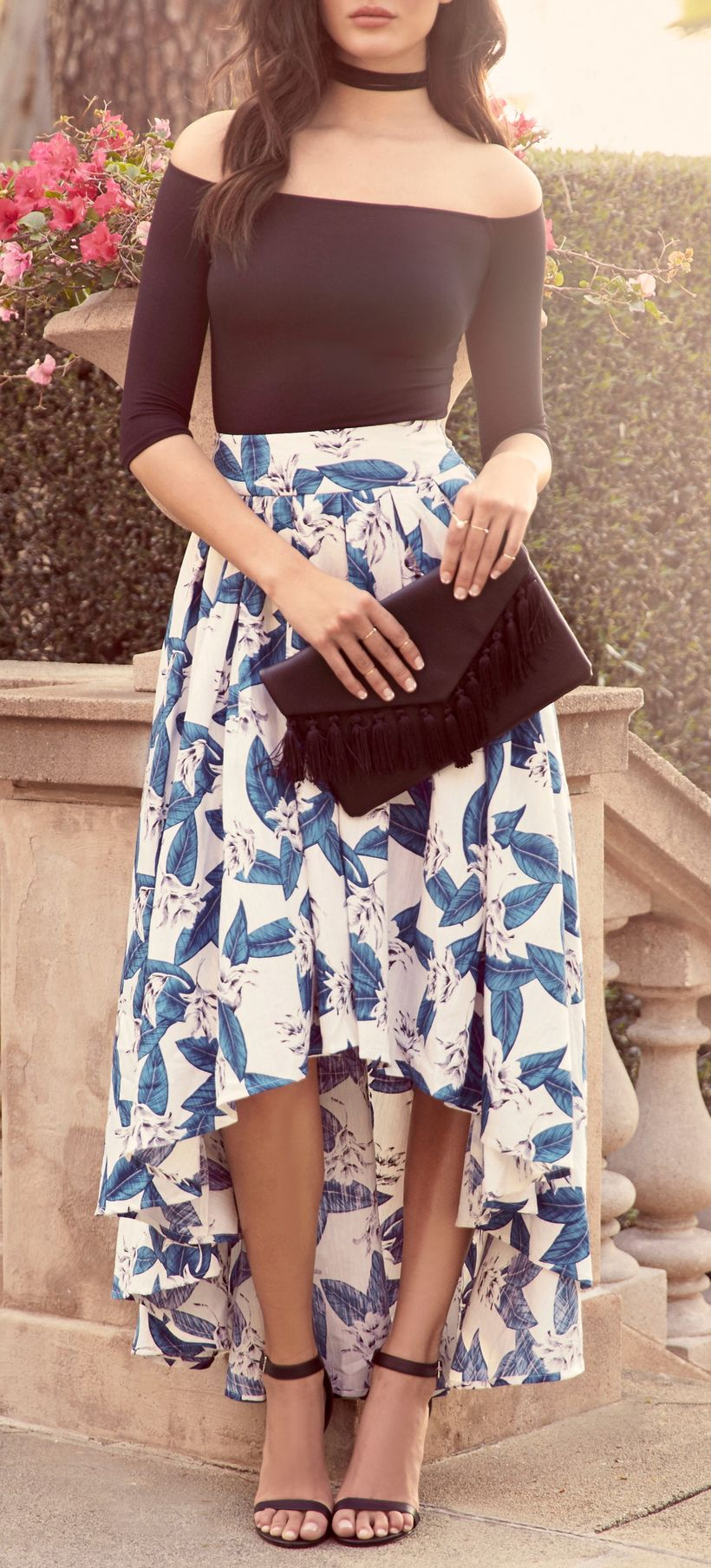 Fashionable skirt outfits ideas that you must try 12